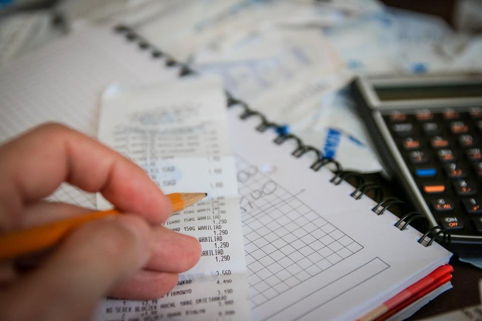 Tenha na ponta do lápis seus ganhos e gastos mensais para melhor controle do seu orçamento